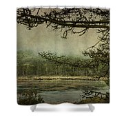 Monterey Bay - The Other Side Shower Curtain