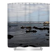 Monterey Bay View Shower Curtain