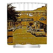 Monterey Cannery Row Company Shower Curtain