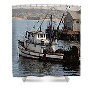 Monterey Fish Company Shower Curtain