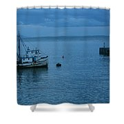 Monterey Tug Shower Curtain