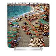 Monterosso Beach Shower Curtain