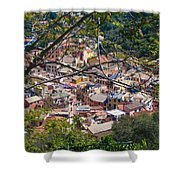 Monterosso From Above - Cinque Terre Shower Curtain