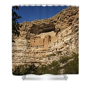 Montezuma Castle National Monument Az Dsc09056 Shower Curtain