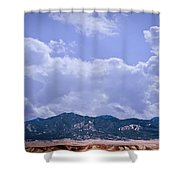 Montezuma County Landmark Shower Curtain