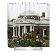 Monticello Estate Shower Curtain
