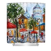 Montmartre Paris Shower Curtain