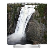 Montmorency Falls - Canada Shower Curtain