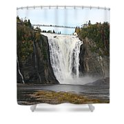 Montmorency Waterfall - Canada Shower Curtain