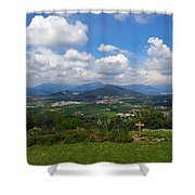Montorfano. Cologne Shower Curtain