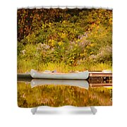 Montpelier Canoe Shower Curtain
