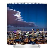 Montreal By Night Shower Curtain