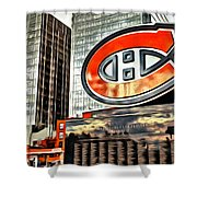 Montreal C Shower Curtain