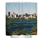 Montreal - Sur Le Fleuve  Shower Curtain