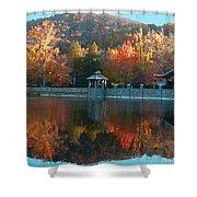Montreat Autumn Shower Curtain