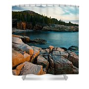 Monument Cove 2604 Shower Curtain