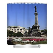 Monument Of Freedom Shower Curtain