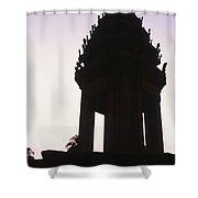Monument Phnom Penh Cambodia Shower Curtain