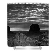 Monument Valley 001 Shower Curtain