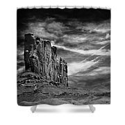 Monument Valley 011 Shower Curtain