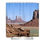 Monument Valley 10 Shower Curtain