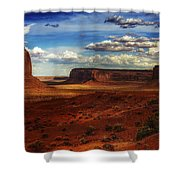 Monument Valley 8 Shower Curtain