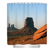 Monument Valley Afternoon Shower Curtain