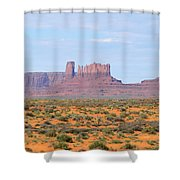 Monument Valley Area Shower Curtain