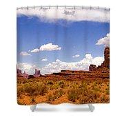 Monument Valley - Arizona Shower Curtain