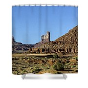 Monument Valley Arizona State Usa Shower Curtain
