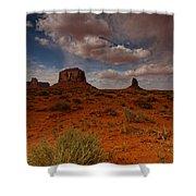 Monument Valley Desert Shower Curtain