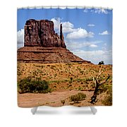 Monument Valley - Elephant Butte Shower Curtain