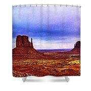 Monument Valley Navajo National Tribal Park Shower Curtain
