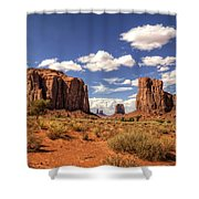 Monument Valley - North Window Overlook  Shower Curtain