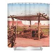 Monument Valley Overlook Shower Curtain