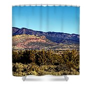 Monument Valley Region-arizona Shower Curtain