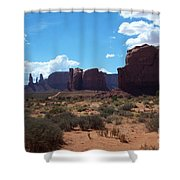 Monument Valley Scenic View Shower Curtain