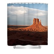 Monument Valley Sunset Shower Curtain