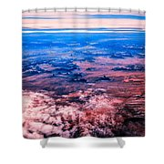 Monument Valley To Be Seen Only If You Were A Bird Shower Curtain