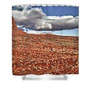Monument Valley Ut 1 Shower Curtain