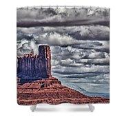 Monument Valley Ut 6 Shower Curtain