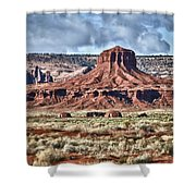 Monument Valley Ut 7 Shower Curtain