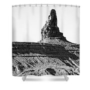 Monument Valley -utah V11 Shower Curtain