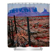 Monument Valley -utah V13 Shower Curtain