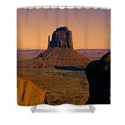 Monument Valley -utah V15 Shower Curtain
