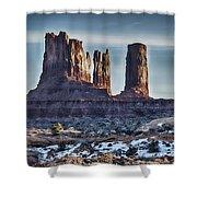 Monument Valley -utah V17 Shower Curtain