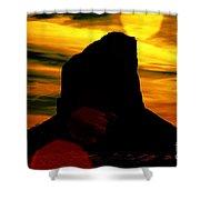 Monument Valley -utah V2 Shower Curtain