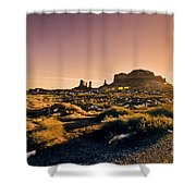 Monument Valley -utah V7 Shower Curtain
