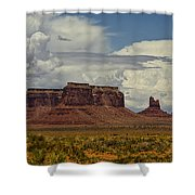 Monumental Clouds  Shower Curtain