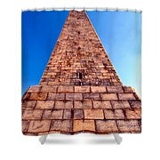 Monumental Heights Shower Curtain